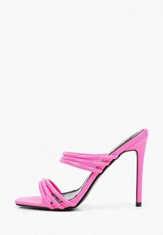 Сабо, Sergio Todzi, цвет: розовый. Артикул: LD001AWIZCF1. Обувь / Сабо и мюли