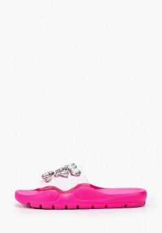 Сланцы, L.Day, цвет: розовый. Артикул: LD001AWJGYM7. Обувь / Резиновая обувь