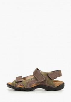 Сандалии, Лель, цвет: хаки. Артикул: LE047ABDRCS8. Мальчикам / Обувь