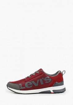 Кроссовки, Levi's?, цвет: красный. Артикул: LE306AMHMPV0. Обувь / Кроссовки и кеды / Кроссовки / Низкие кроссовки
