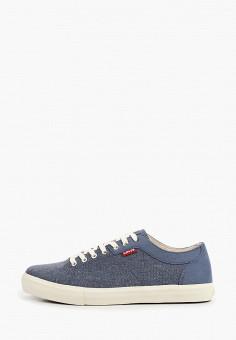 Кеды, Levi's?, цвет: синий. Артикул: LE306AMHMPY8. Обувь / Кроссовки и кеды / Кеды