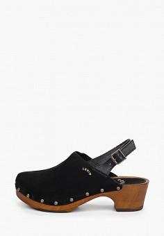 Туфли, Levi's?, цвет: черный. Артикул: LE306AWHPON2. Обувь / Туфли
