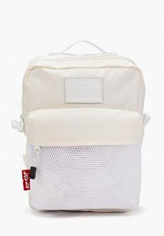 Рюкзак, Levi's?, цвет: белый. Артикул: LE306BWHPTV5. Аксессуары / Рюкзаки / Рюкзаки