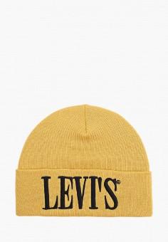 Шапка, Levi's?, цвет: желтый. Артикул: LE306CMHPTW8. Аксессуары / Головные уборы
