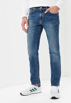 Джинсы, Levi's?, цвет: синий. Артикул: LE306EMBPJC0. Одежда / Джинсы / Зауженные джинсы