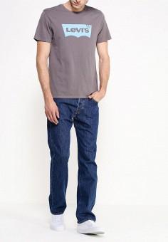 Джинсы, Levi's?, цвет: синий. Артикул: LE306EMFTB85. Одежда / Джинсы