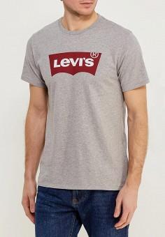 Футболка, Levi's?, цвет: серый. Артикул: LE306EMFTD26. Одежда