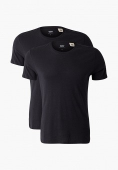 Комплект, Levi's?, цвет: черный. Артикул: LE306EMGAXQ2. Одежда / Футболки и поло