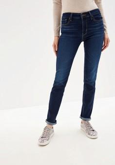 Джинсы, Levi's?, цвет: синий. Артикул: LE306EWFOXV3. Одежда / Джинсы