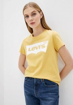 Футболка, Levi's?, цвет: желтый. Артикул: LE306EWHHOX0. Одежда / Футболки и поло