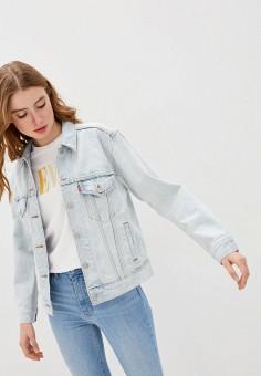Куртка джинсовая, Levi's?, цвет: голубой. Артикул: LE306EWHHPC3. Одежда