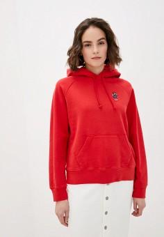 Худи, Levi's?, цвет: красный. Артикул: LE306EWHHPC8. Одежда / Толстовки и свитшоты
