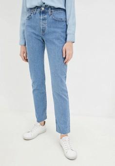 Джинсы, Levi's?, цвет: синий. Артикул: LE306EWHHPD4. Одежда / Джинсы / Узкие джинсы