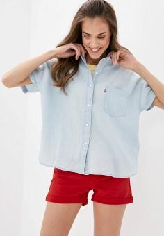 Рубашка, Levi's?, цвет: голубой. Артикул: LE306EWHHPV9. Одежда / Блузы и рубашки / Рубашки