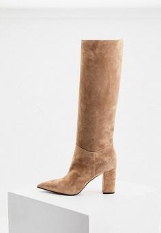 Сапоги, Le Silla, цвет: бежевый. Артикул: LE682AWKIKW1. Обувь / Сапоги / Сапоги