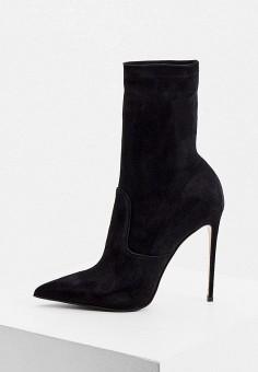 Ботильоны, Le Silla, цвет: черный. Артикул: LE682AWKIKW2. Обувь / Ботильоны