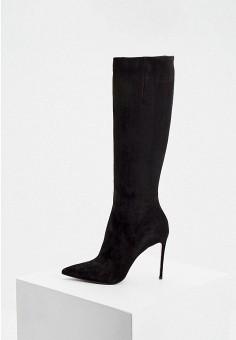 Сапоги, Le Silla, цвет: черный. Артикул: LE682AWKIKW3. Обувь / Сапоги / Сапоги