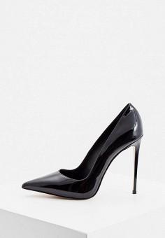 Туфли, Le Silla, цвет: черный. Артикул: LE682AWKIKW8. Обувь / Туфли / Лодочки