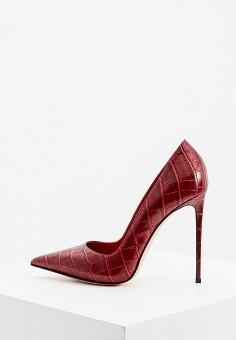 Туфли, Le Silla, цвет: красный. Артикул: LE682AWKIKX0. Обувь / Туфли / Лодочки