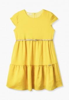 Платье, Liu Jo Junior, цвет: желтый. Артикул: LI034EGICAN3. Девочкам / Одежда / Платья и сарафаны