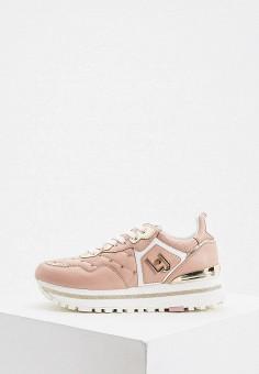 Кроссовки, Liu Jo, цвет: розовый. Артикул: LI687AWIKEI7.