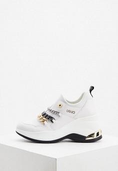 Кроссовки, Liu Jo, цвет: белый. Артикул: LI687AWJGYU5.