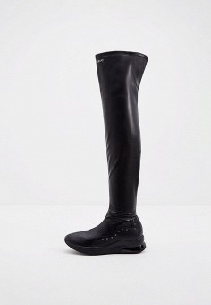 Ботфорты, Liu Jo, цвет: черный. Артикул: LI687AWKDAN7. Обувь / Сапоги / Ботфорты