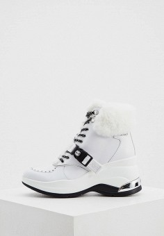 Ботильоны, Liu Jo, цвет: белый. Артикул: LI687AWKDAO3. Обувь / Ботильоны
