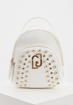 Рюкзак, Liu Jo, цвет: белый. Артикул: LI687BWHPPO3. Аксессуары / Рюкзаки