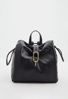 Рюкзак, Liu Jo, цвет: черный. Артикул: LI687BWHPPP0. Аксессуары / Рюкзаки / Рюкзаки
