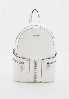 Рюкзак, Liu Jo, цвет: белый. Артикул: LI687BWHPPP2. Аксессуары / Рюкзаки