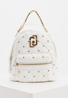 Рюкзак, Liu Jo, цвет: белый. Артикул: LI687BWHPPR2. Аксессуары / Рюкзаки