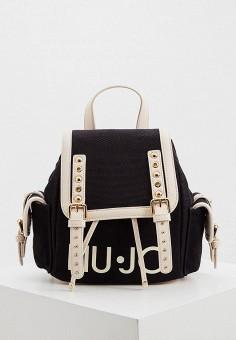 Рюкзак, Liu Jo, цвет: черный. Артикул: LI687BWIPTJ3. Аксессуары / Рюкзаки / Рюкзаки