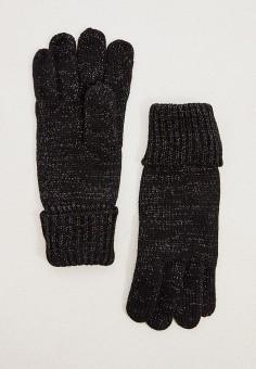 Перчатки, Liu Jo, цвет: черный. Артикул: LI687DWFUEJ5. Аксессуары / Перчатки и варежки
