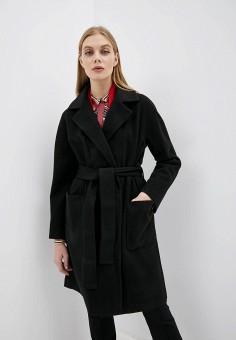 Пальто, Liu Jo, цвет: черный. Артикул: LI687EWFUQC3.