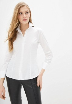 Рубашка, Liu Jo, цвет: белый. Артикул: LI687EWHHLL7. Одежда / Блузы и рубашки / Рубашки