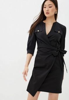 Платье, Liu Jo, цвет: черный. Артикул: LI687EWHHLQ1.