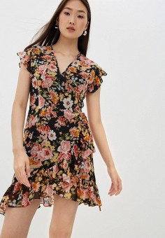 Платье, Liu Jo, цвет: мультиколор. Артикул: LI687EWHHLQ3. Одежда / Платья и сарафаны