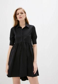 Платье, Liu Jo, цвет: черный. Артикул: LI687EWJGYV6.