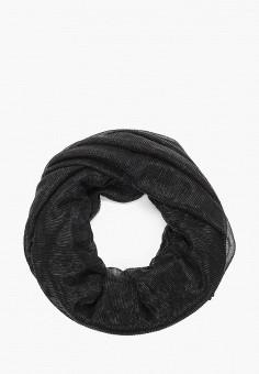 Палантин, Liu Jo, цвет: черный. Артикул: LI687GWHPPU6. Аксессуары / Платки и шарфы