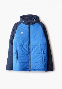 Куртка утепленная, Lotto, цвет: синий. Артикул: LO004EUFQJV1. Одежда / Верхняя одежда / Демисезонные куртки