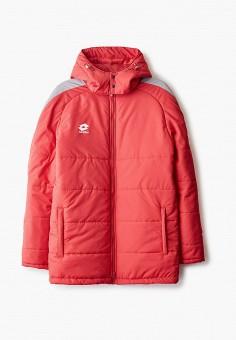 Куртка утепленная, Lotto, цвет: красный. Артикул: LO004EUINKZ3. Одежда / Верхняя одежда / Пуховики и зимние куртки / Зимние куртки