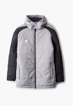 Куртка утепленная, Lotto, цвет: серый. Артикул: LO004EUINKZ5. Одежда / Верхняя одежда / Демисезонные куртки