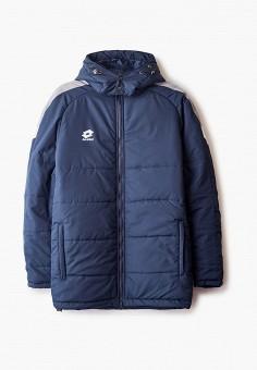 Куртка утепленная, Lotto, цвет: синий. Артикул: LO004EUINKZ7. Одежда / Верхняя одежда / Пуховики и зимние куртки / Зимние куртки