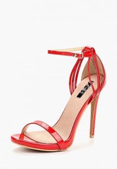 Босоножки, Lost Ink, цвет: красный. Артикул: LO019AWCDSX7. Обувь / Босоножки