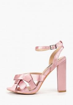 Босоножки, Lost Ink, цвет: розовый. Артикул: LO019AWCDSY2. Обувь / Босоножки