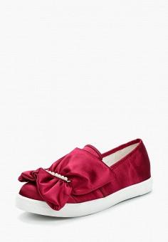 Слипоны, Lost Ink, цвет: красный. Артикул: LO019AWZPI34. Обувь / Слипоны