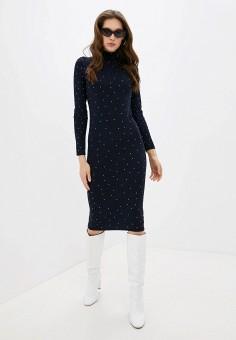 Платье, Love Republic, цвет: синий. Артикул: LO022EWHBQQ1.