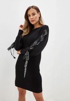 Платье, Love Republic, цвет: черный. Артикул: LO022EWHBQQ5.