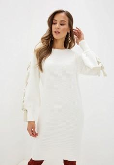 Платье, Love Republic, цвет: белый. Артикул: LO022EWHBQQ6.